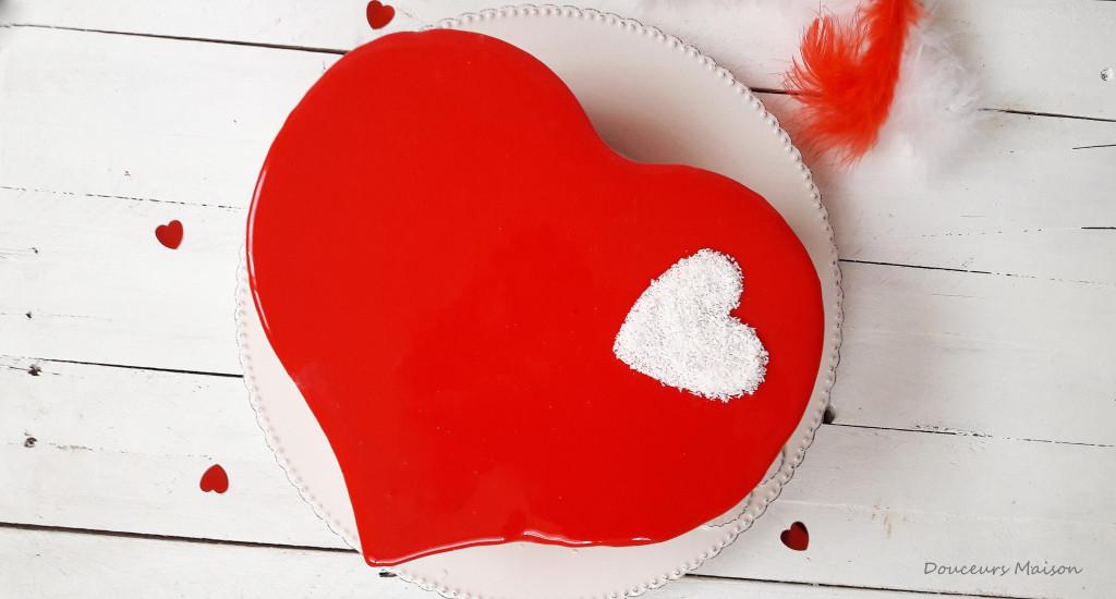 st valentin coeur penché