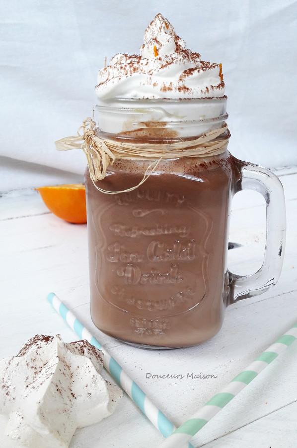 Chocolat à la Cannelle Chantilly Orange façon Viennois