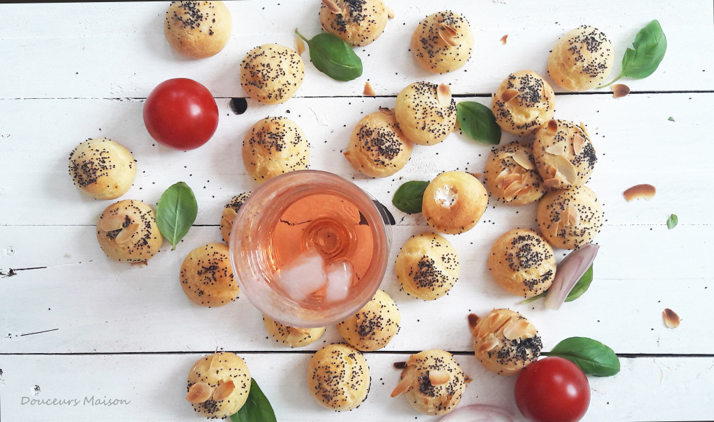 chouquettes fromage piment