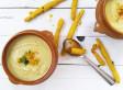 Velouté de Chou-fleur au curry et ses gressins épicés (bataille food#49)