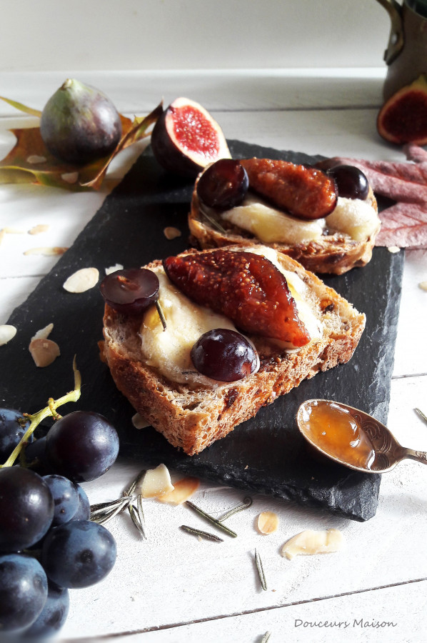 Tartine mi-figue mi-raisin ! Foodista#34