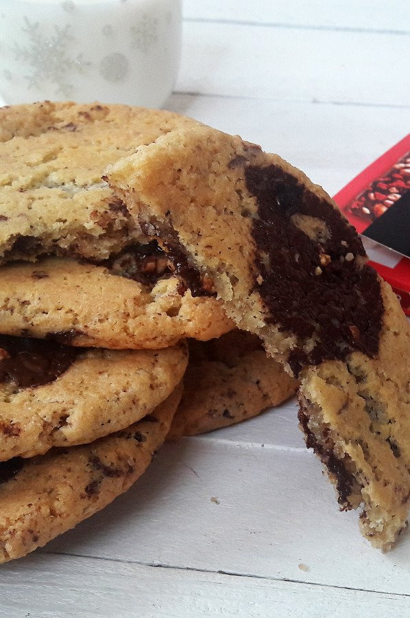 Cookies au Chocolat Noisettes Framboises Côte d'Or